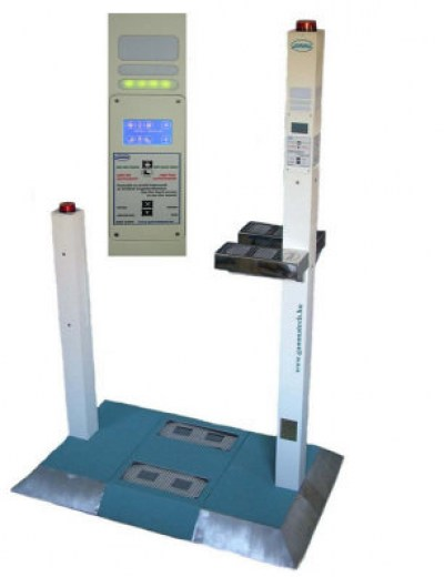 BNS-94PH Hybrid Personal Radiation Control Gate